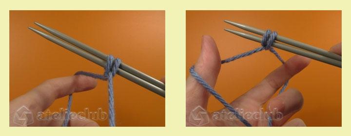 Na-spicakh-2petli Несколько способов закрытия петель спицами