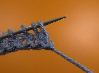 Вязать спицами начало вязания